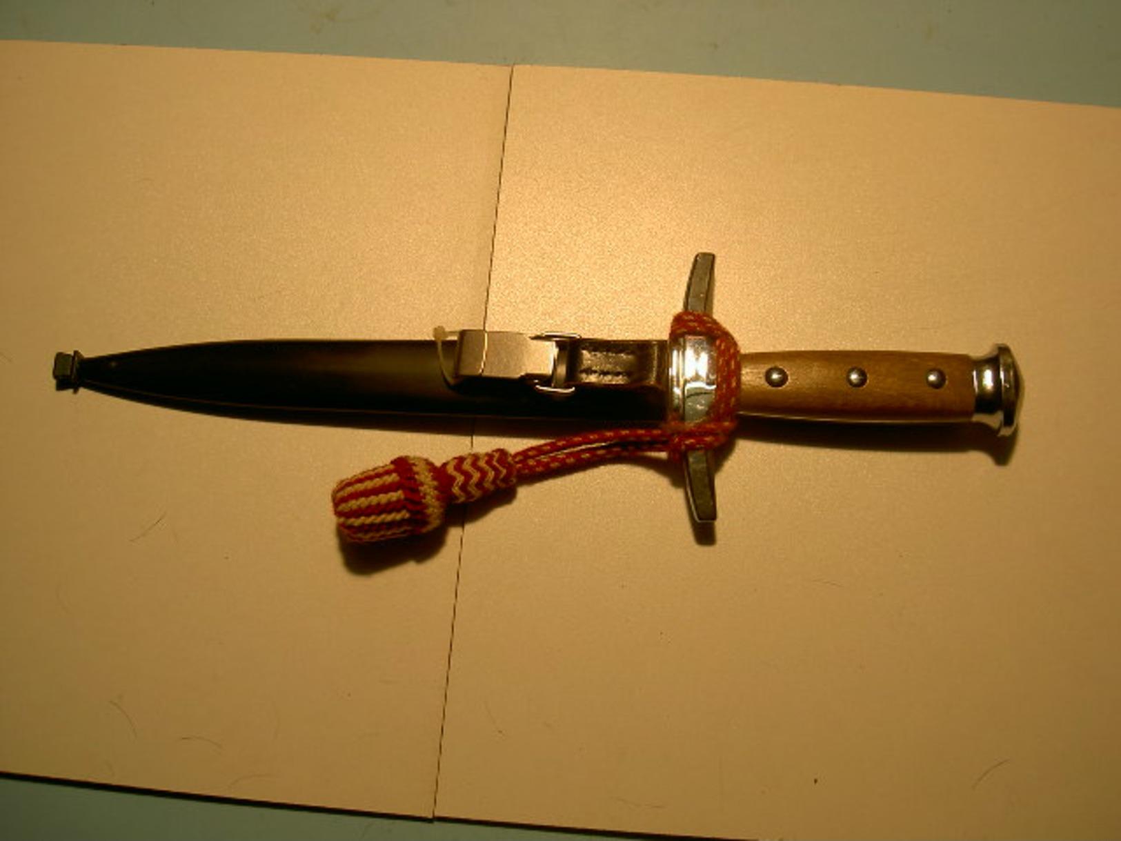 Dague Officier Suisse - Armes Blanches