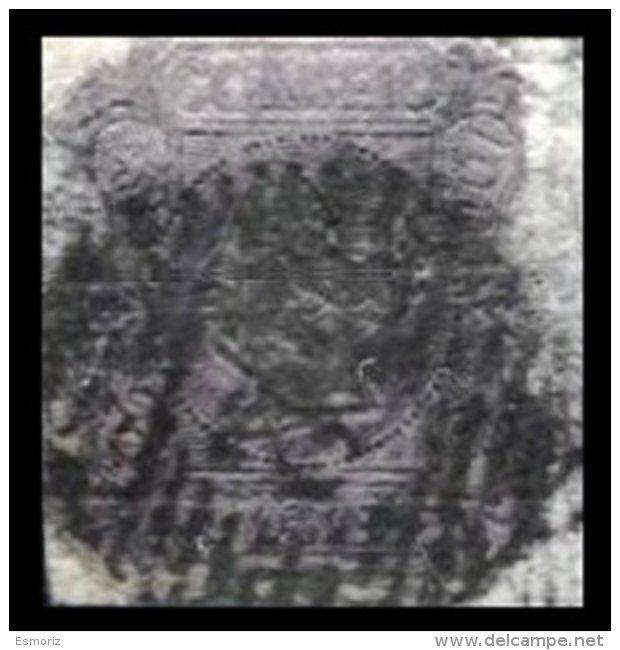 PORTUGAL, AF 4, Yv 4, SG 8, Mi A, Sc 4, Used, F/VF, Cat. € 3,500.00 - 1853 : D.Maria
