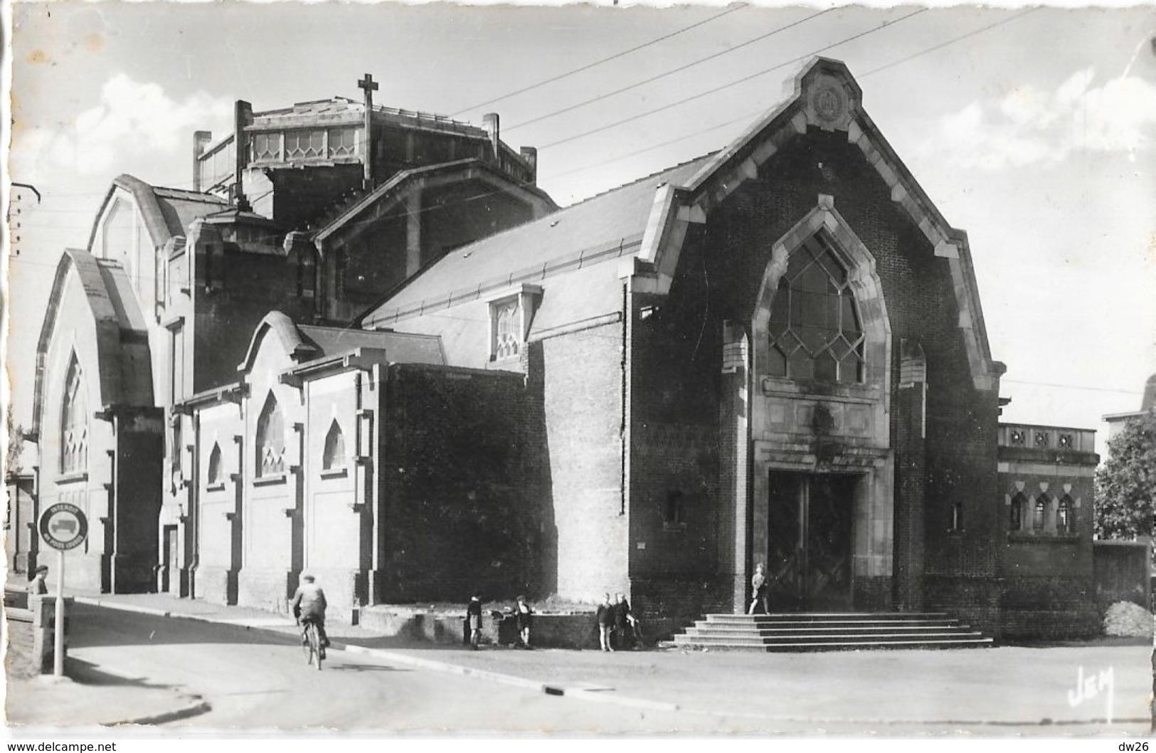 Aulnoye (Nord) - L'Eglise En 1954 - Edition J. Mercier - Aulnoye