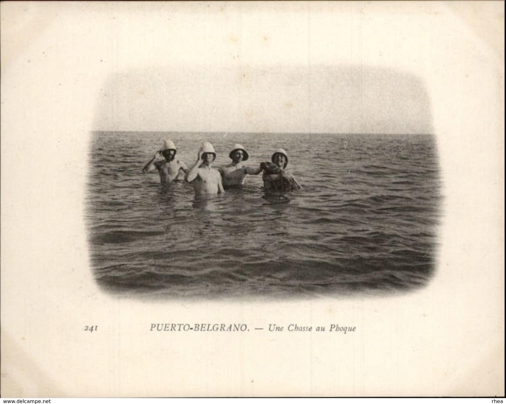 Campagne DUGUAY-TROUIN 1902-1903 - Expédition - ARGENTINE - Puerto Belgrano - Chasse Aux Phoque - Argentine