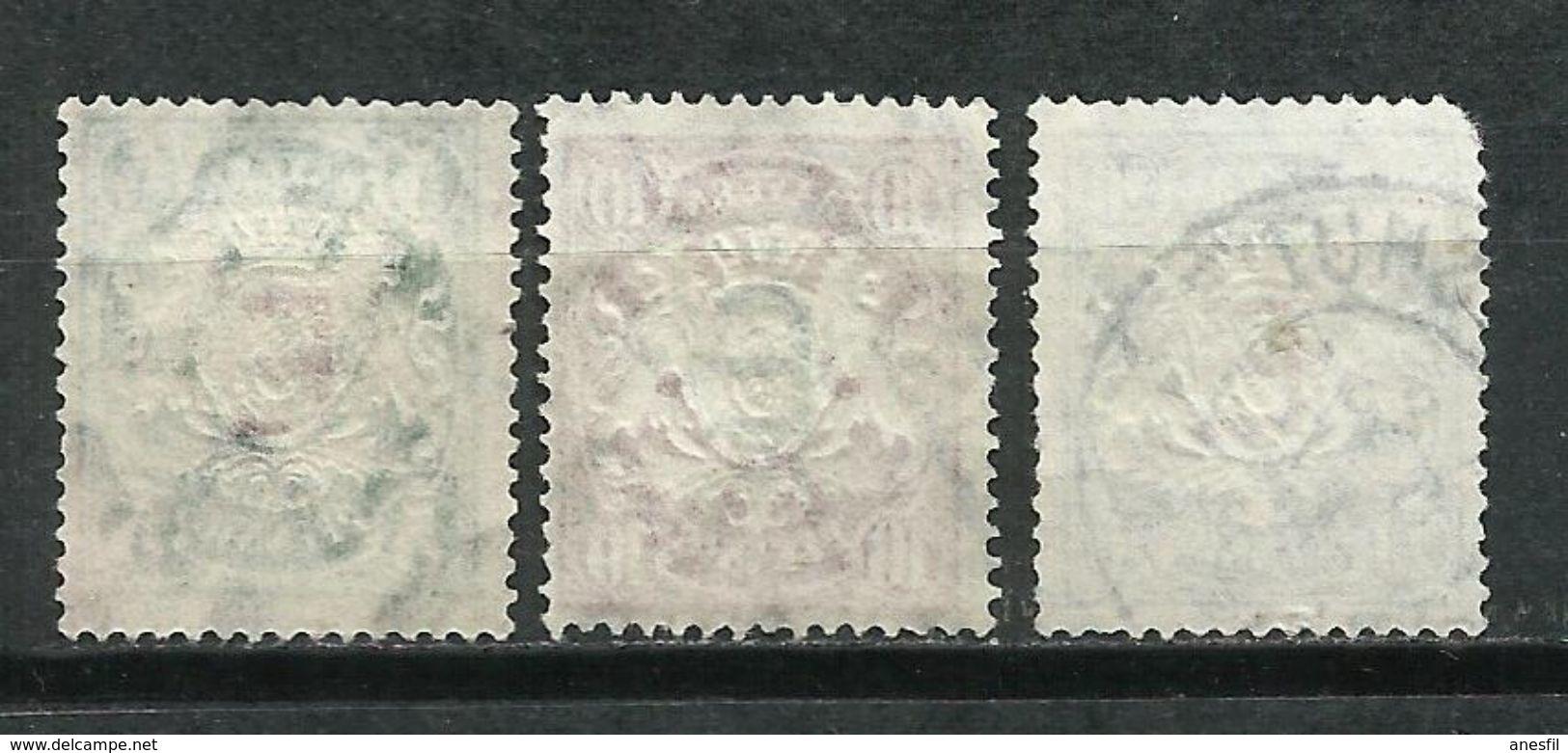 Bavaria. Servicio. 1908. Sellos De 1888-00 Sobrecargados. - Bavaria