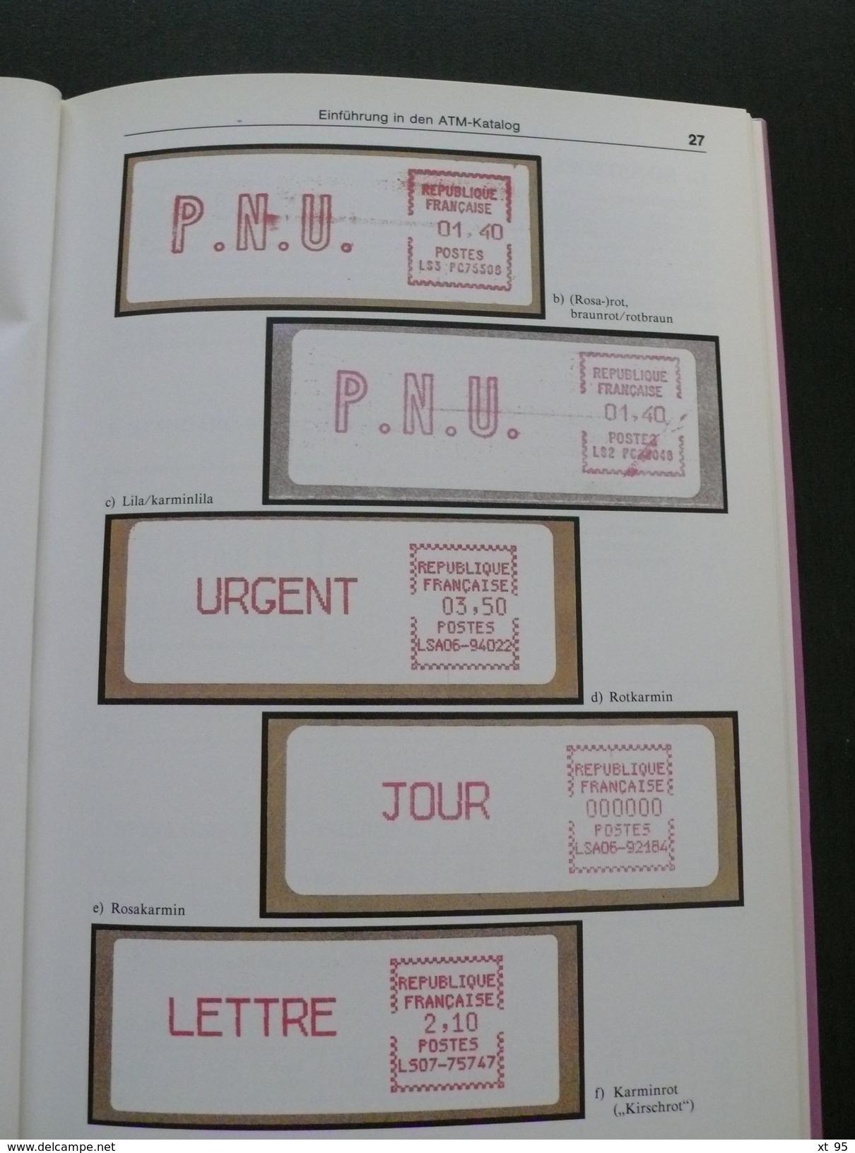 Automatenmarken 1985/86 - 140 Pages - Port 3.50€ - Otros