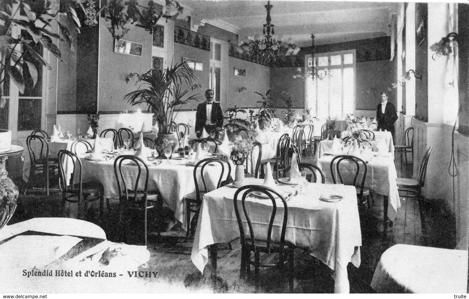 VICHY SPLENDID HOTEL ET D'ORLEANS - Vichy