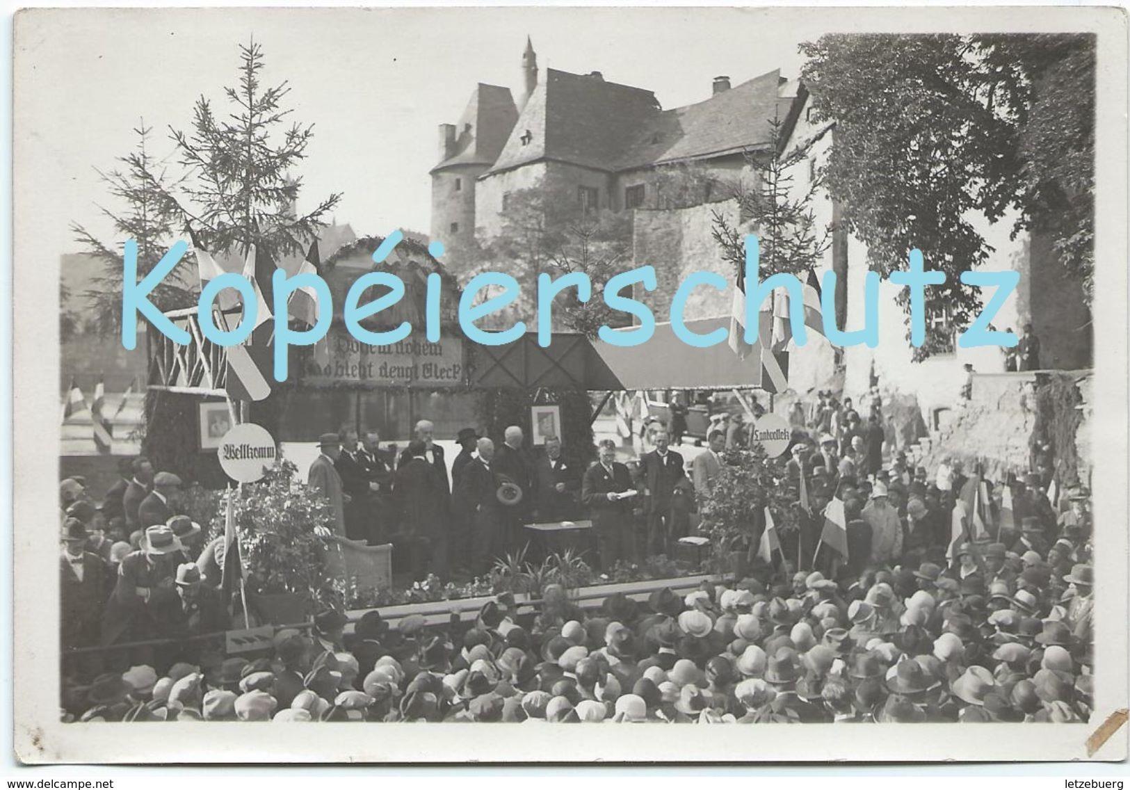 Clervaux - Clerf (Klierf) - Manifestation (Foto Bertogne) - Clervaux