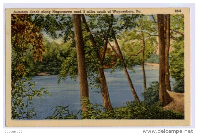 WAYNASBORO Antietan Creek Along Hagerstown - Other