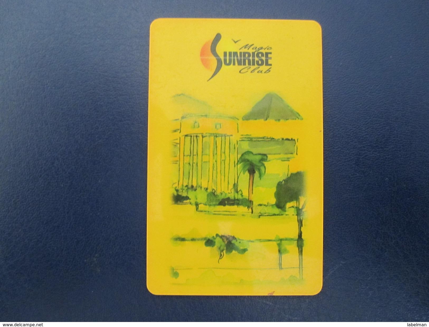 HOTEL MOTEL INN PENSION MOTOR HOUSE MAGIC SUNRISE CLUB FATTAL DEAD SEA HAIFA JERUSALEM TIBERIAS EILAT KEY CARD ISRAEL - Hotel Labels