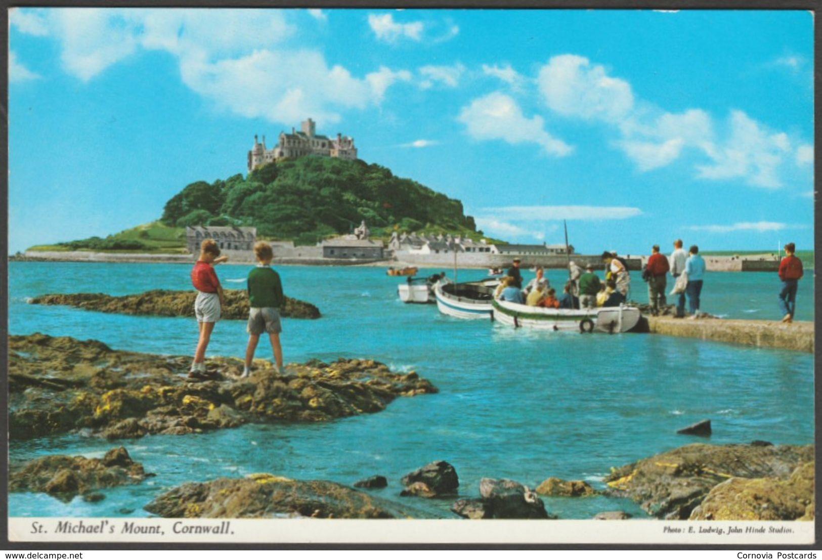 St Michael's Mount, Cornwall, C.1980 - John Hinde Postcard - St Michael's Mount