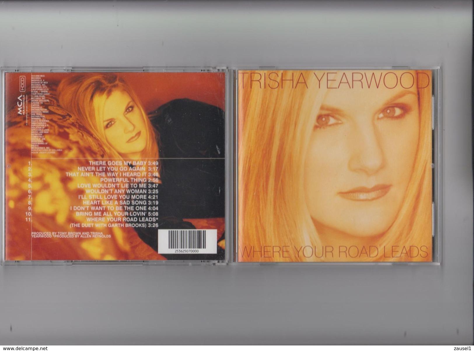 Trisha  Yearwood - Where Your Roads Leads - Original CD - Country & Folk
