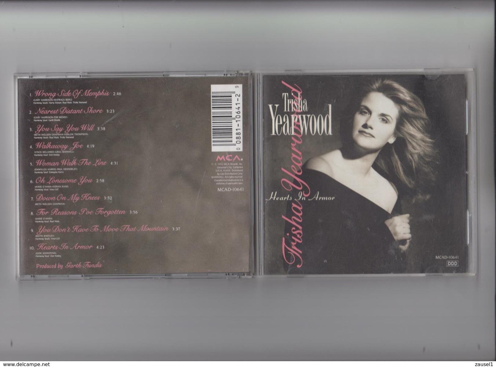 Trisha  Yearwood - Hearts In Armor - Original CD - Country & Folk