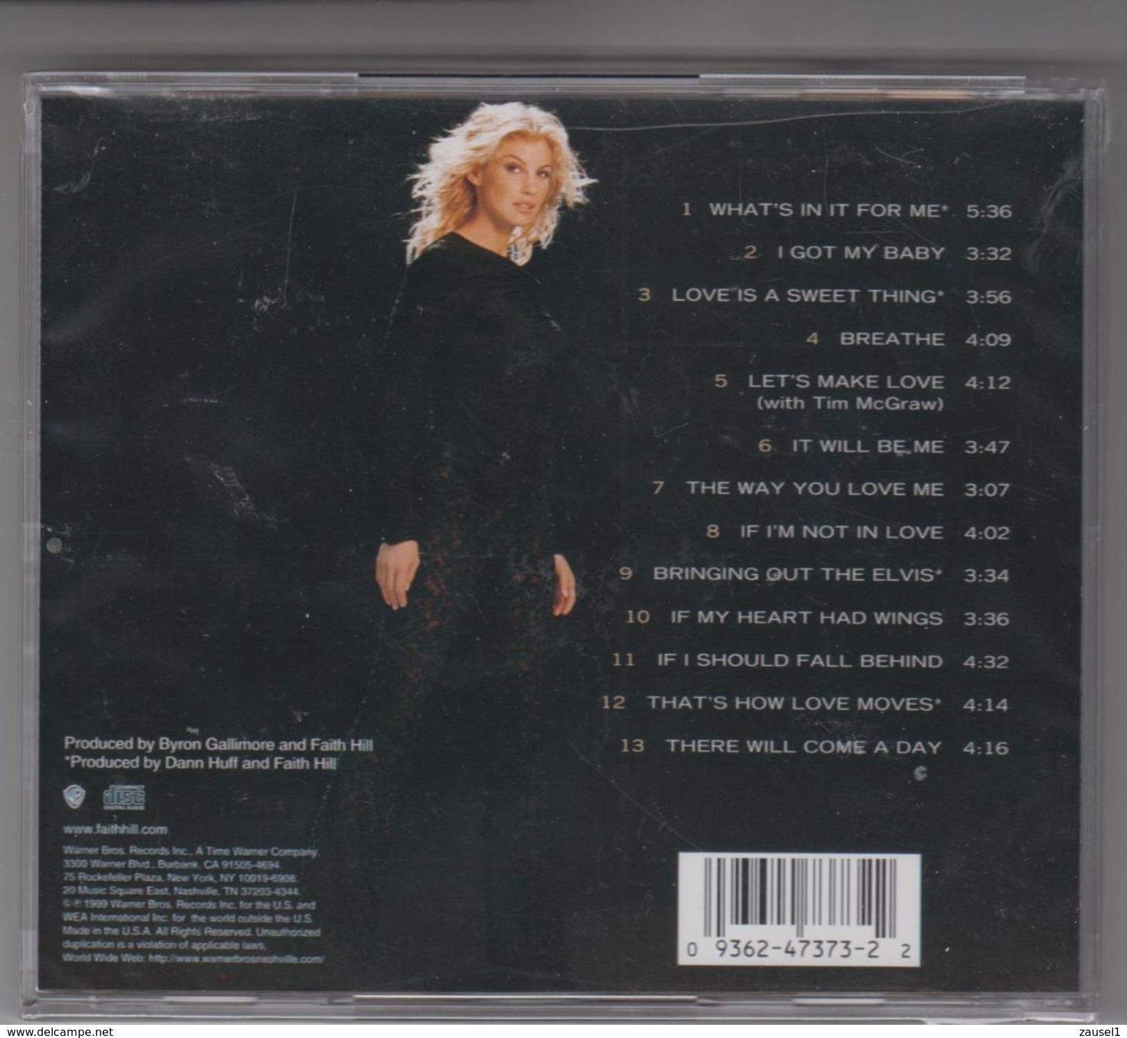 Faith Hill - Breathe - Original CD - Neu, Noch Eingeschweißt - Country & Folk