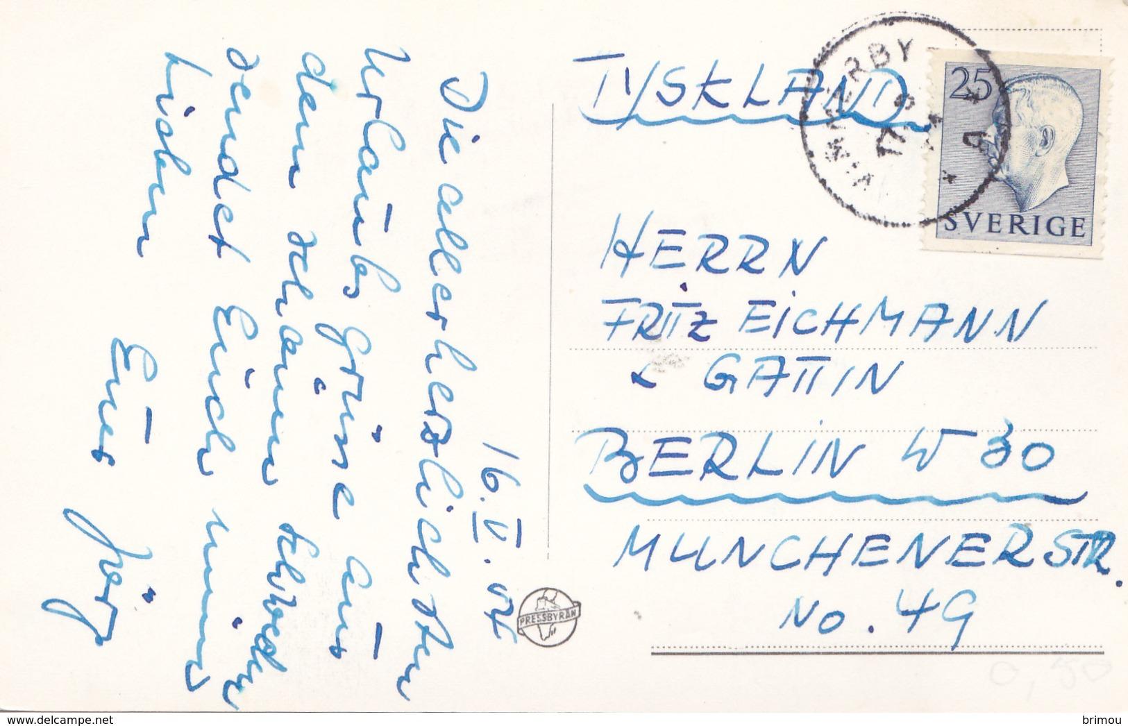 Carte Postale De Vimmerby, Suéde. Scan R/V. - Zweden