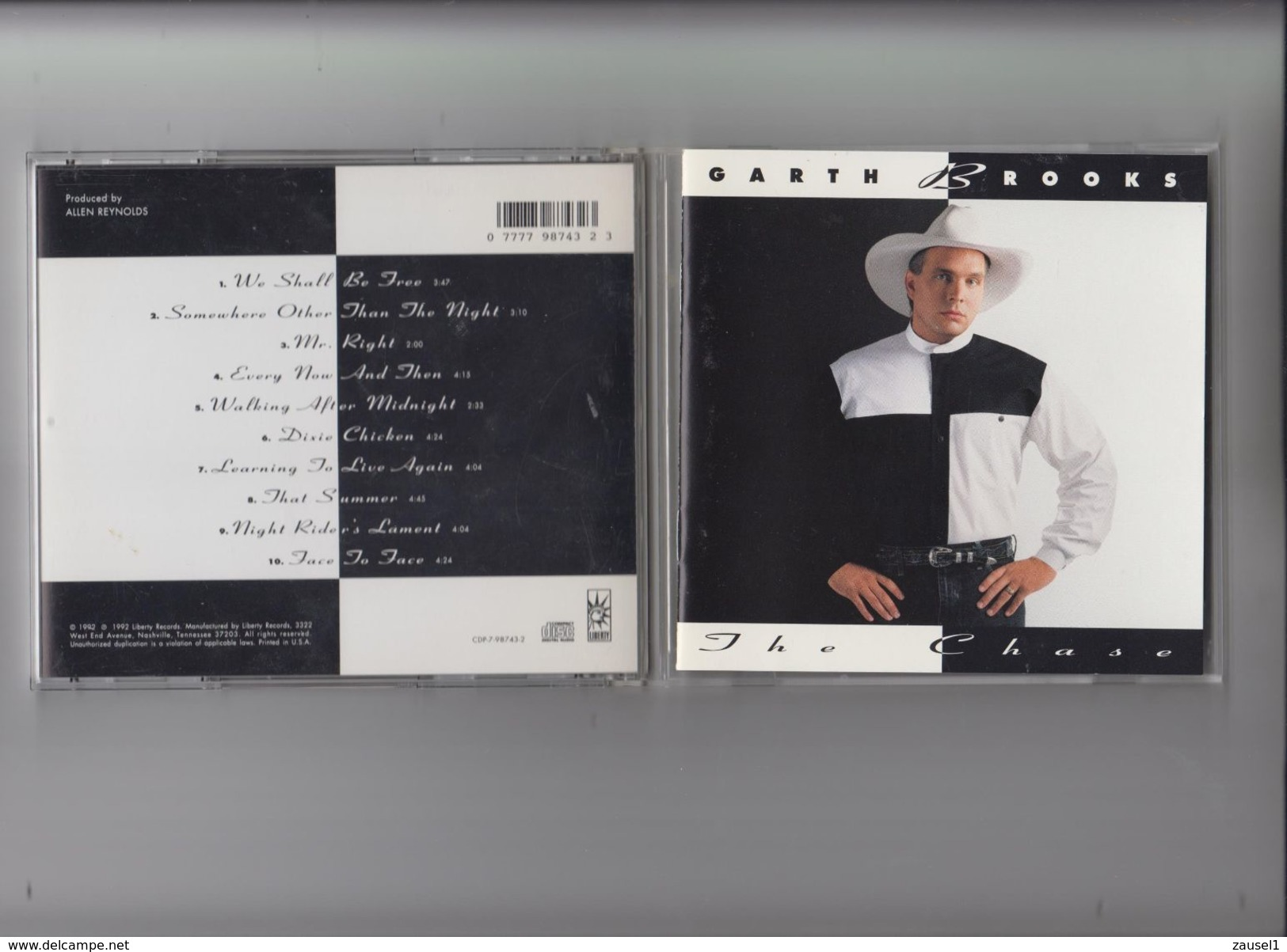 Garth Brooks - The Chase - Original CD - Country & Folk