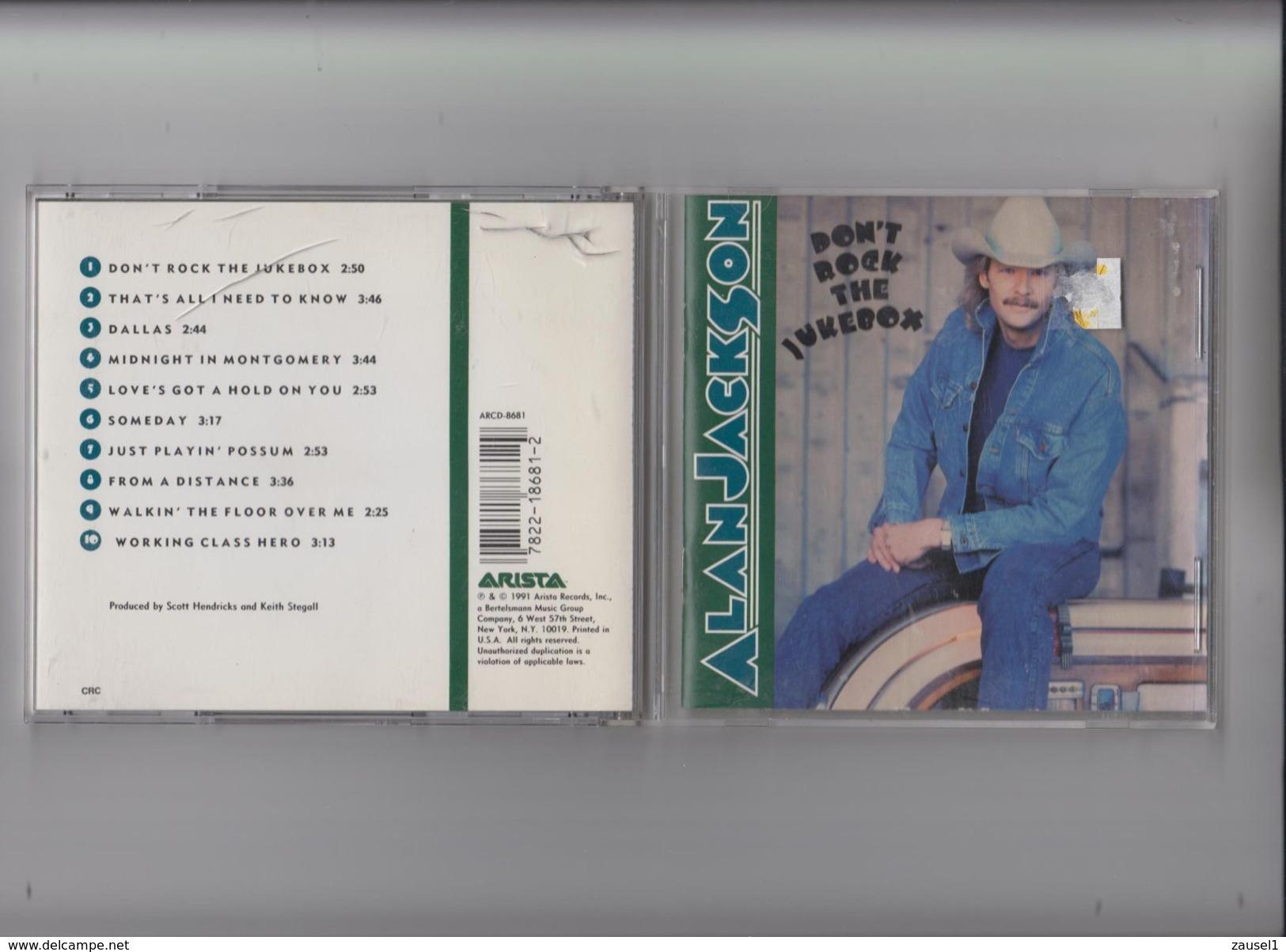 Alan Jackson - Don't Rock The Juke Box - Original CD Von 1991 ! - Country & Folk