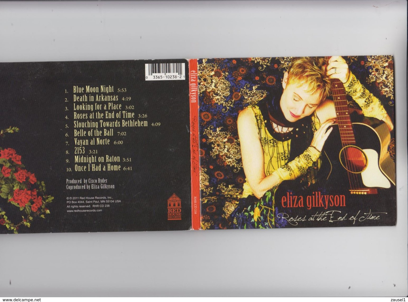 Eliza Gilkyson - Roses At The End Of Time - Original CD - Country & Folk