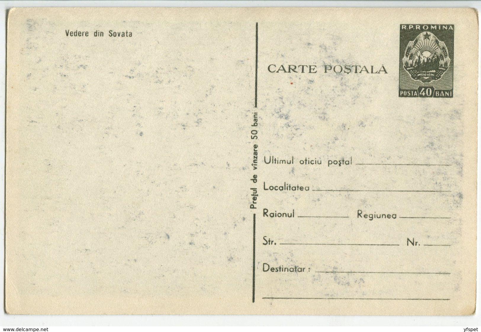 Sovata Health Resort - Picture Post Card Stationery - Romania