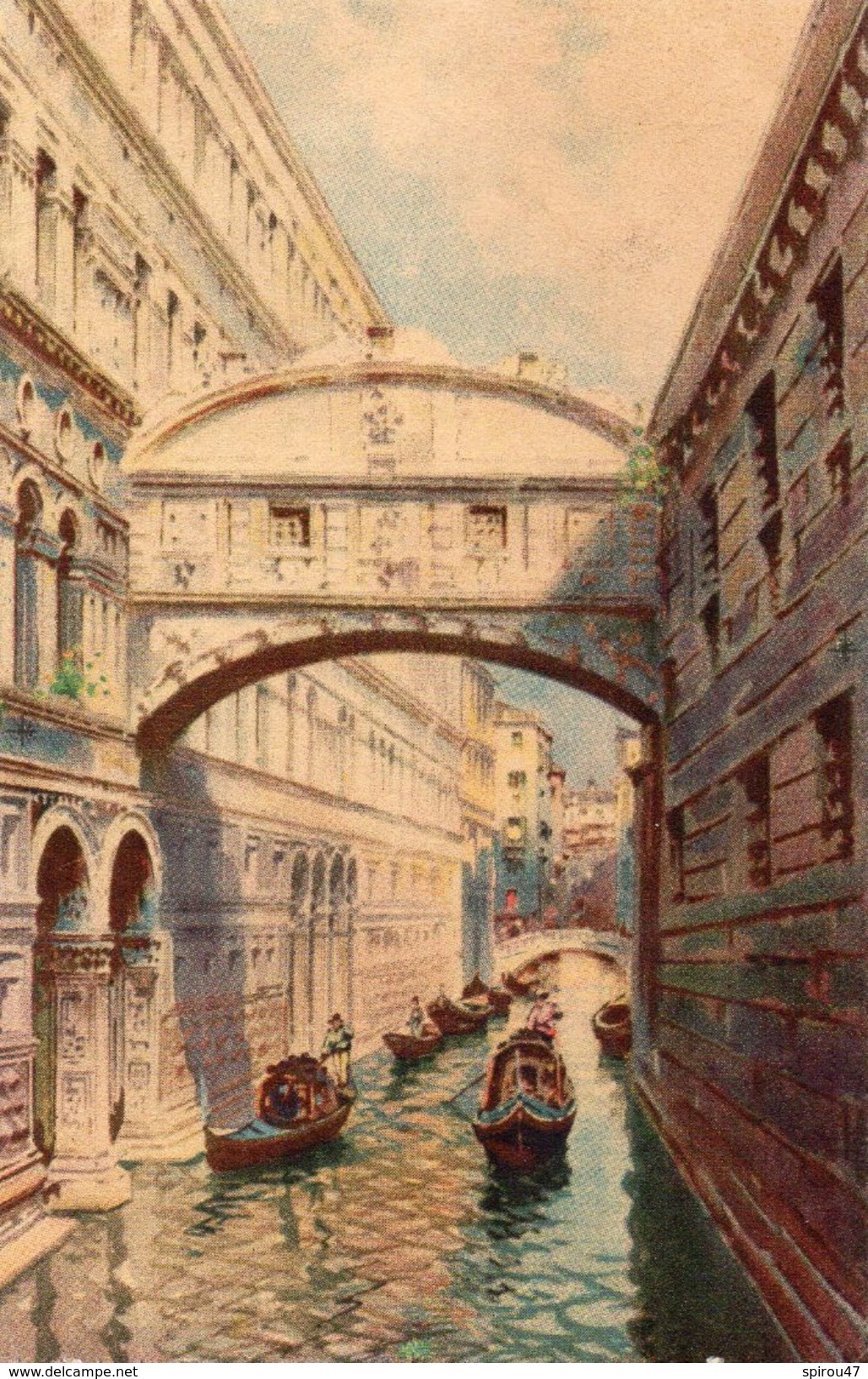 CPA VENEZIA - PONTE DEI SOSPIRI - Venezia (Venice)