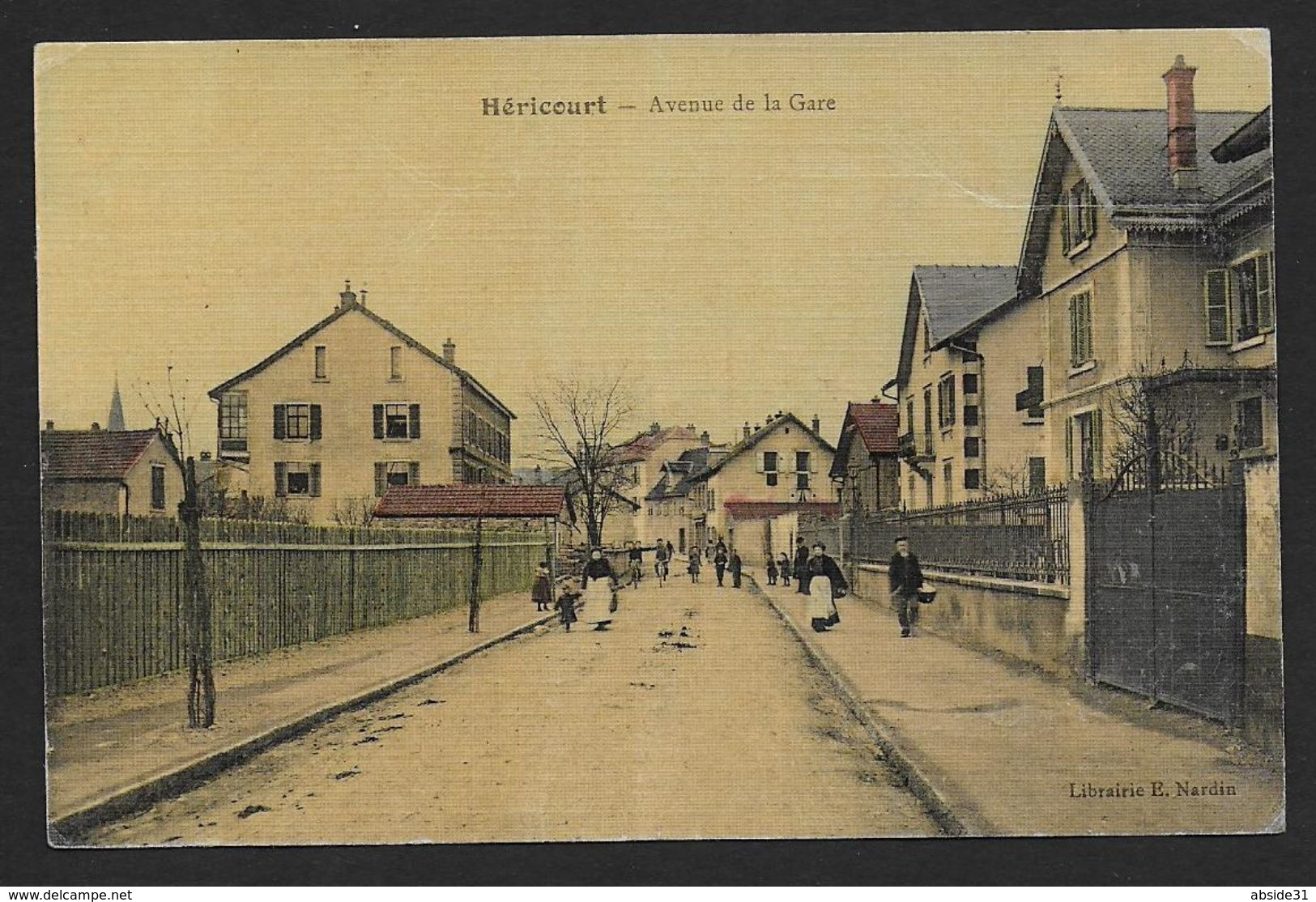 HERICOURT - Avenue De La Gare - Otros Municipios