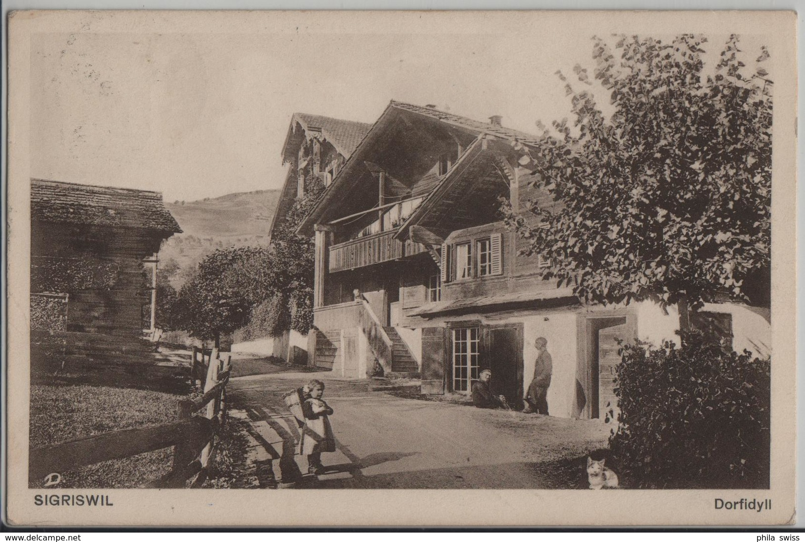 Sigriswil - Dorfidyll, Animee - Photo: R. Deyhle - BE Bern