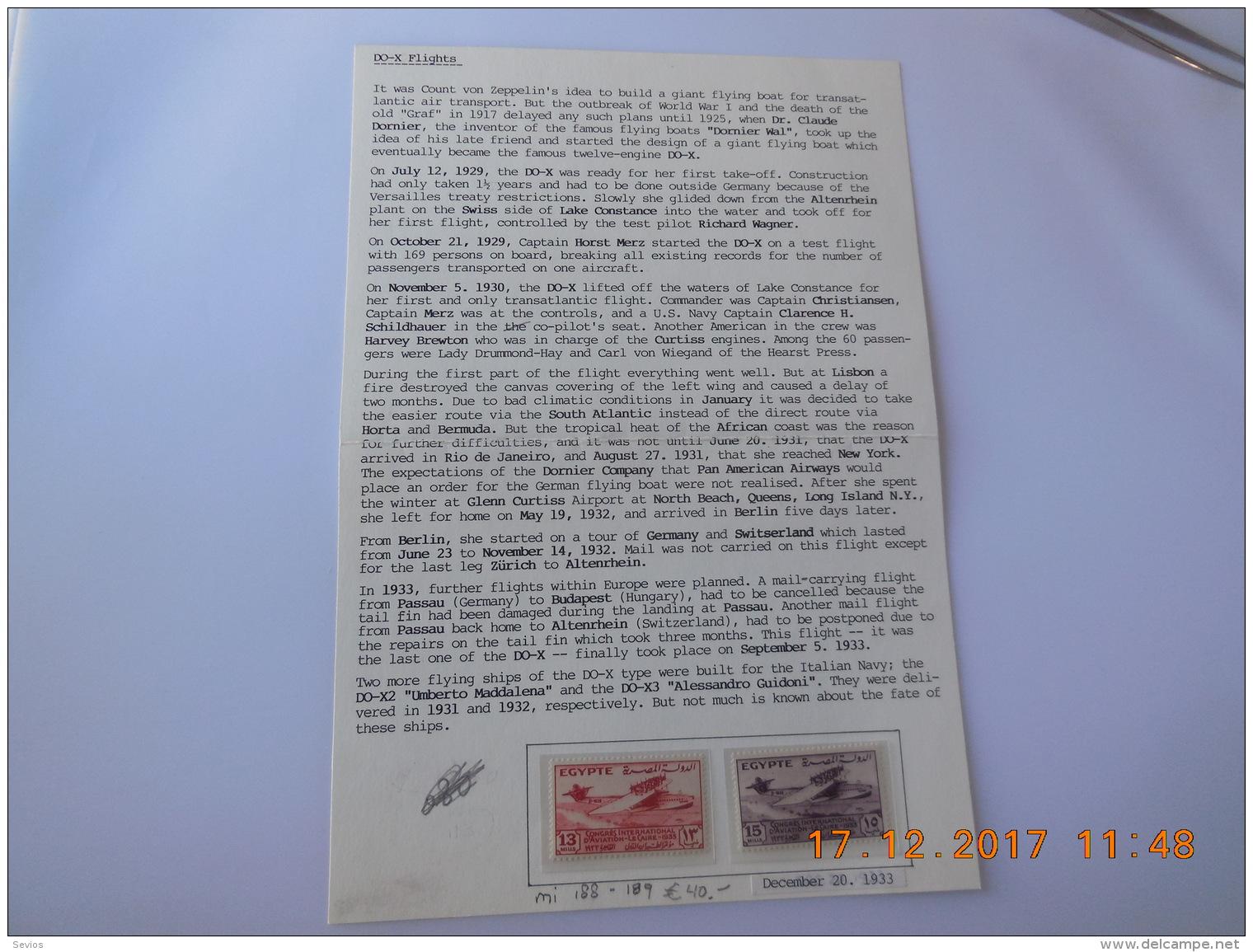 Sevios / Egypt / Stamp **, *, (*) Or Used - Egypte