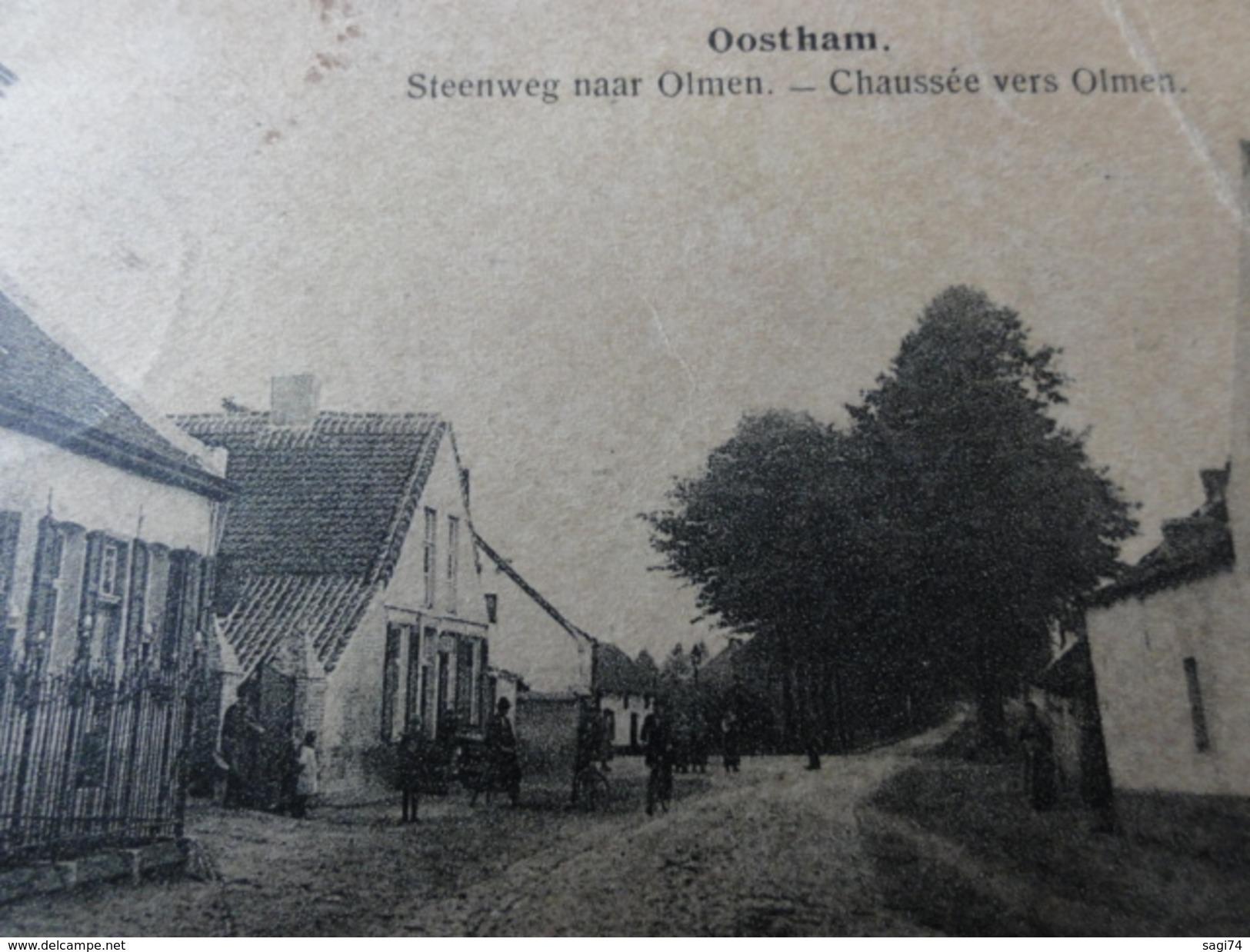 "Ham / Oostham , "" Steenweg Naar Olmen "" - Ham"