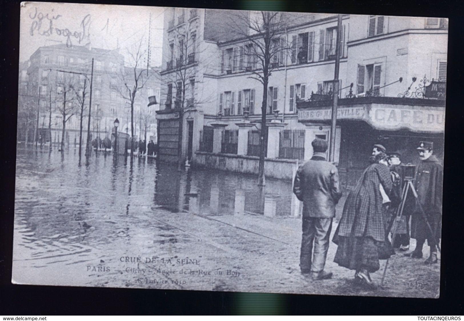 PARIS INONDATIONS LA PHOTOGRAPHE - Alluvioni Del 1910