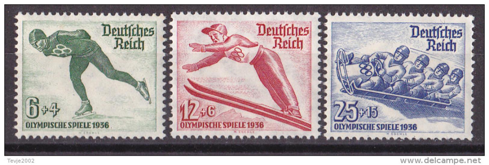 Mü_ Deutsches Reich - Mi.Nr. 600 - 602 - Postfrisch MNH - Deutschland