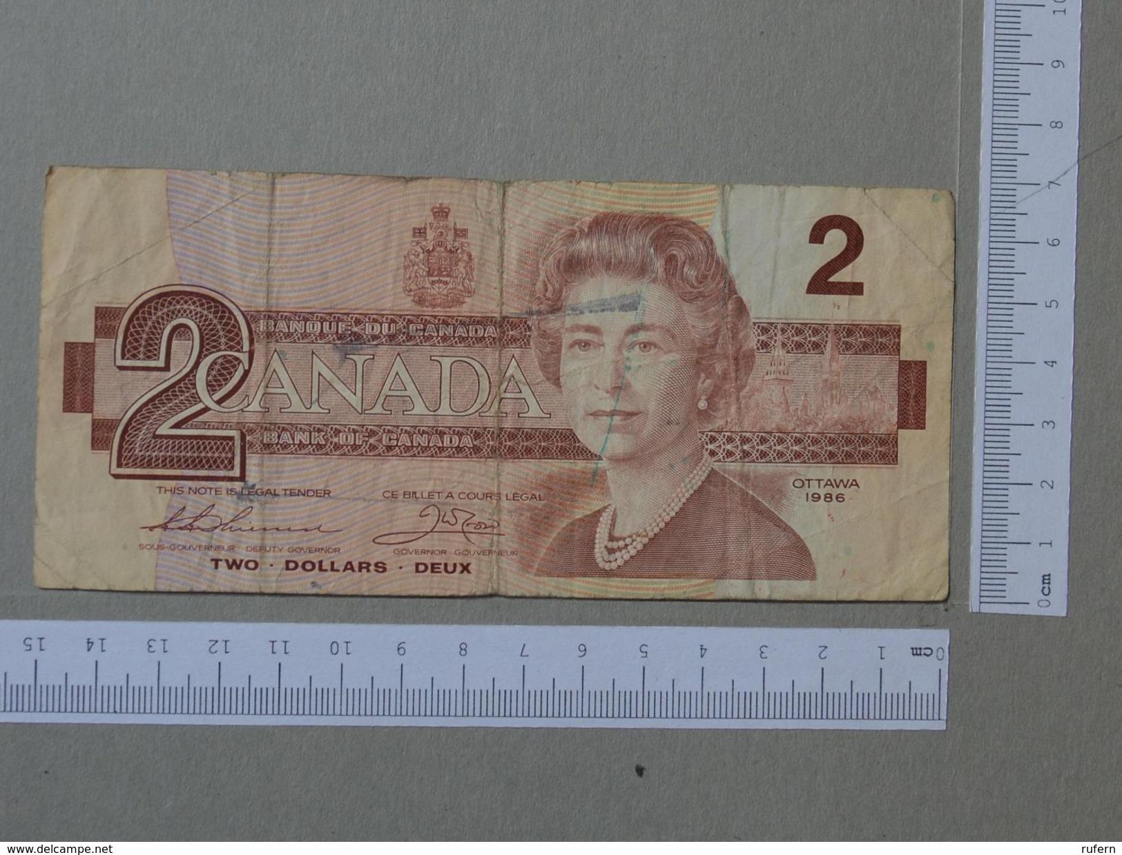 CANADA 2 DOLLARS 1986 -       (Nº19339) - Canada