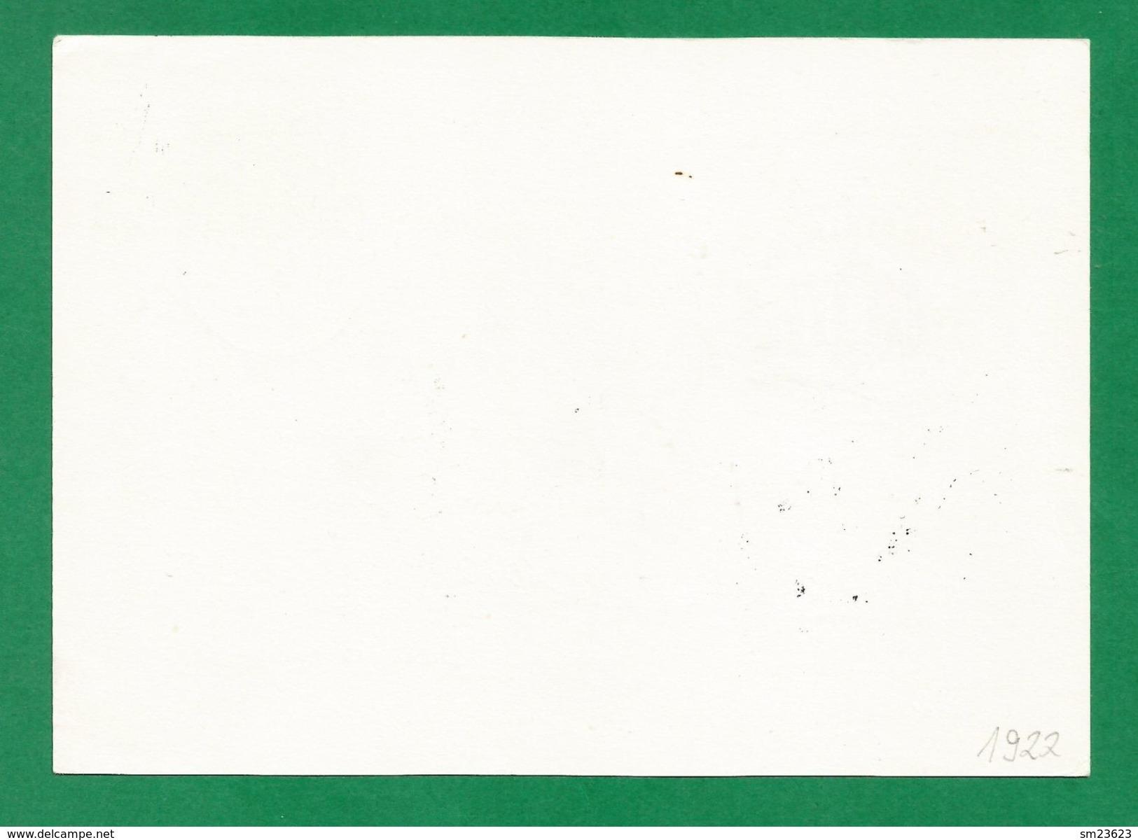 Österreich  1988  Mi.Nr. 1922 , EUROPA CEPT Transport- Und Kommunikationsmittel - Ganzsache  Stempel 22.11.90 - Europa-CEPT