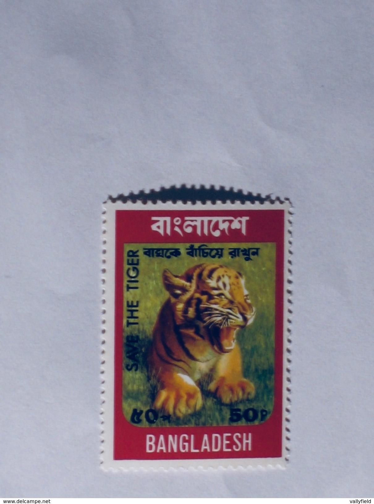 BANGLADESH  1974  Lot # 4  TIGER - Bangladesh