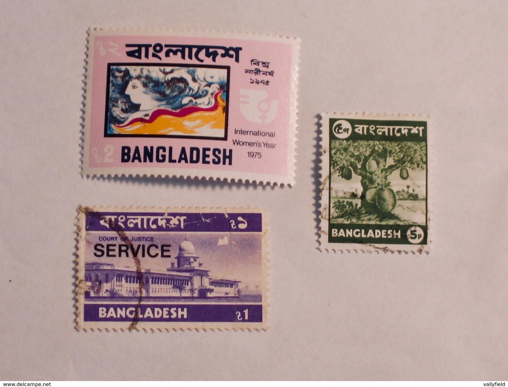 BANGLADESH  1975-77  Lot # 9 - Bangladesh