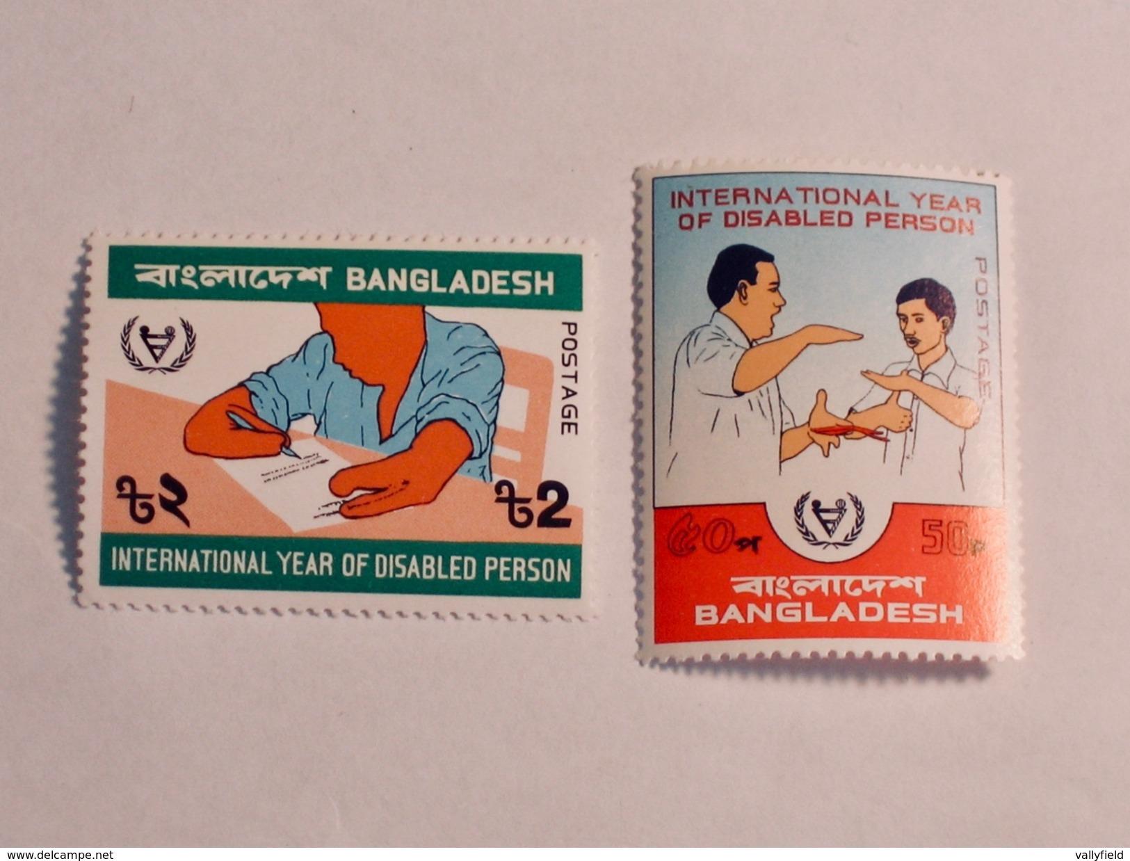 BANGLADESH  1981  Lot # 11  YEAR OF THE DISABLED - Bangladesh