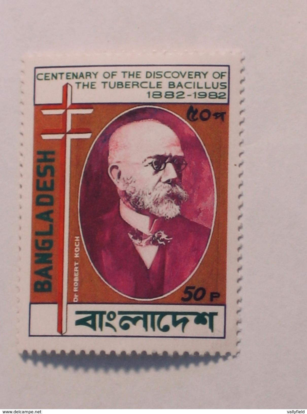 BANGLADESH  1983  Lot # 13  TB BACILLUS CENTENARY - Bangladesh