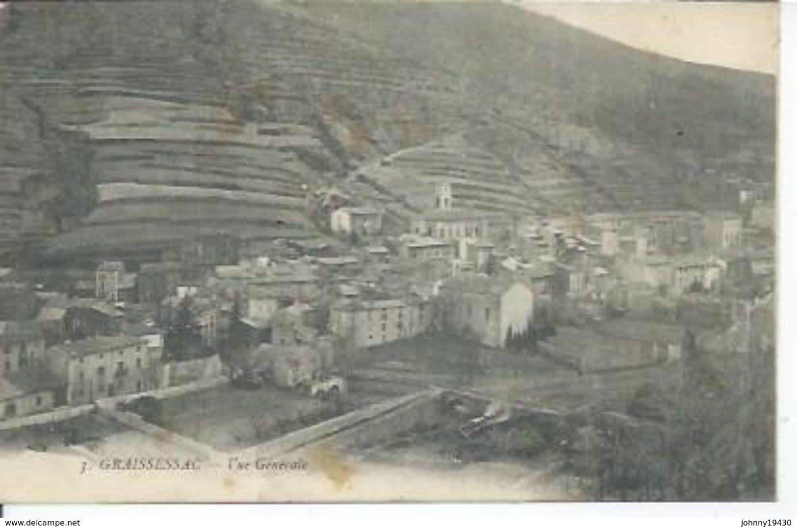 3 - GRAISSESSAC - VUE GENERALE - France