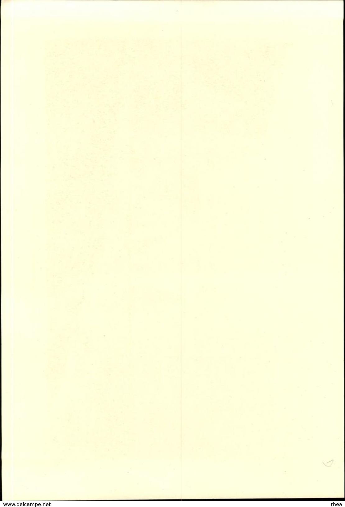 27 - LES ANDELYS - Planche Sépia - La Vallée De La Seine  - Cliché Briquet 1935 - Vieux Papiers
