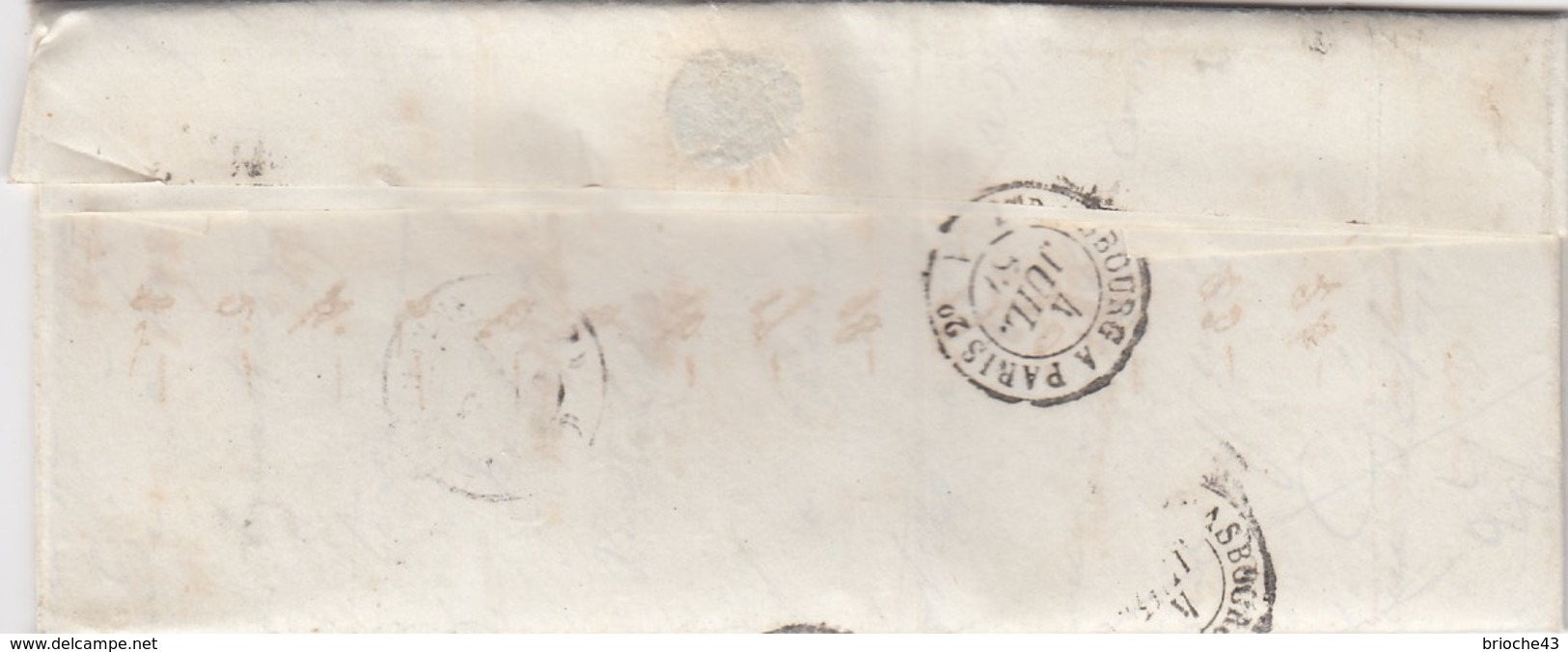 FRANCE - LETTRE CLASSIQUE  / 1 - Postmark Collection (Covers)