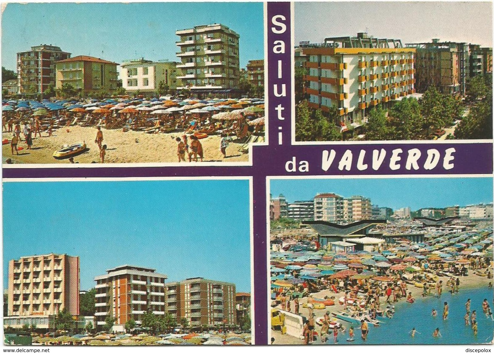 V1187 Saluti Da Valverde Di Cesenatico (Forlì Cesena) - Panorama Vedute Multipla / Viaggiata 1979 - Italy