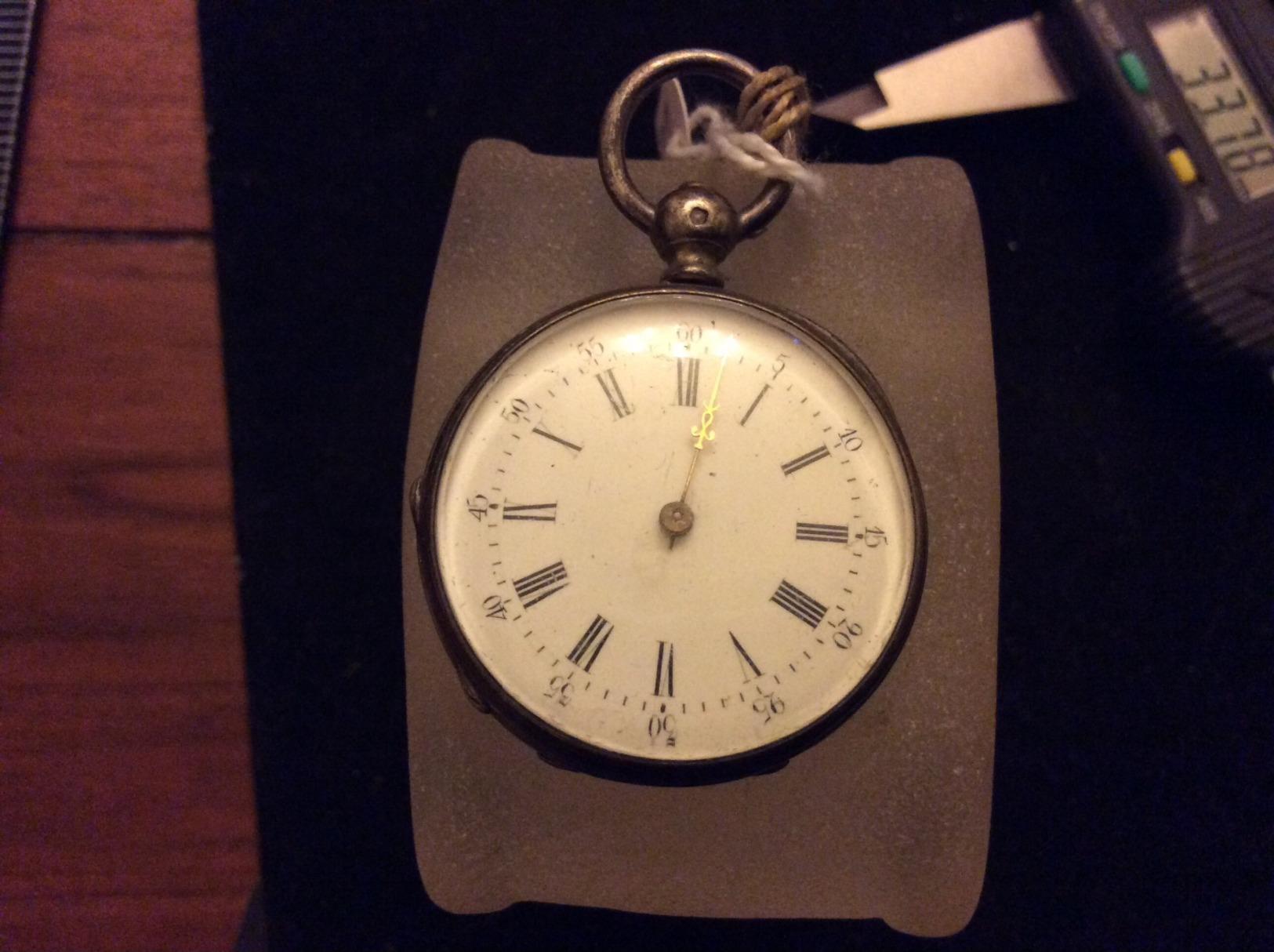 Montre Gousset Argent Châtelaine - Horloge: Zakhorloge