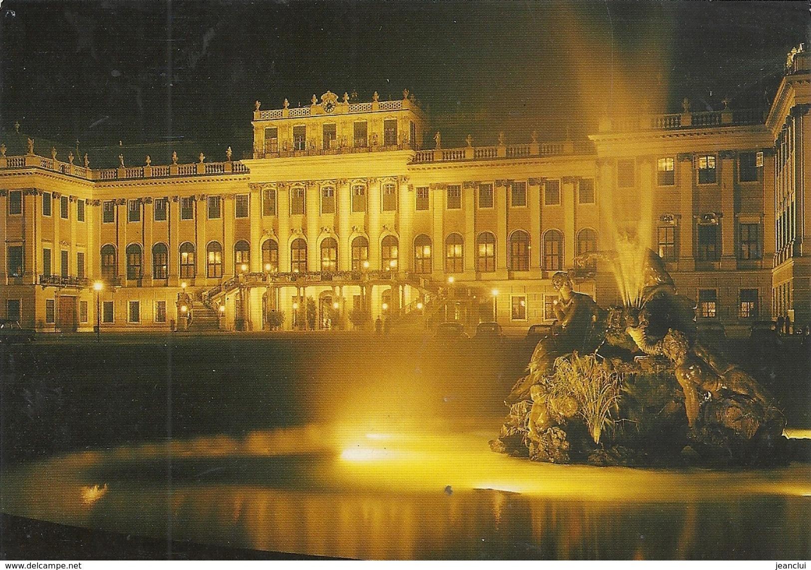 CPM.  VIENNE . CHATEAU DE SCHOENBRUNN . ECRITE AU VERSO - Château De Schönbrunn
