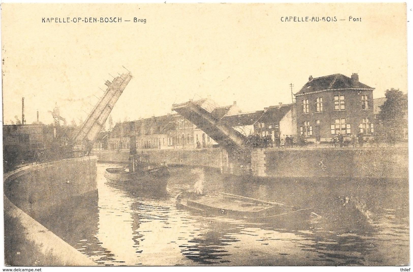 Capelle-au-Bois NA3: Pont 1926 - Kapelle-op-den-Bos