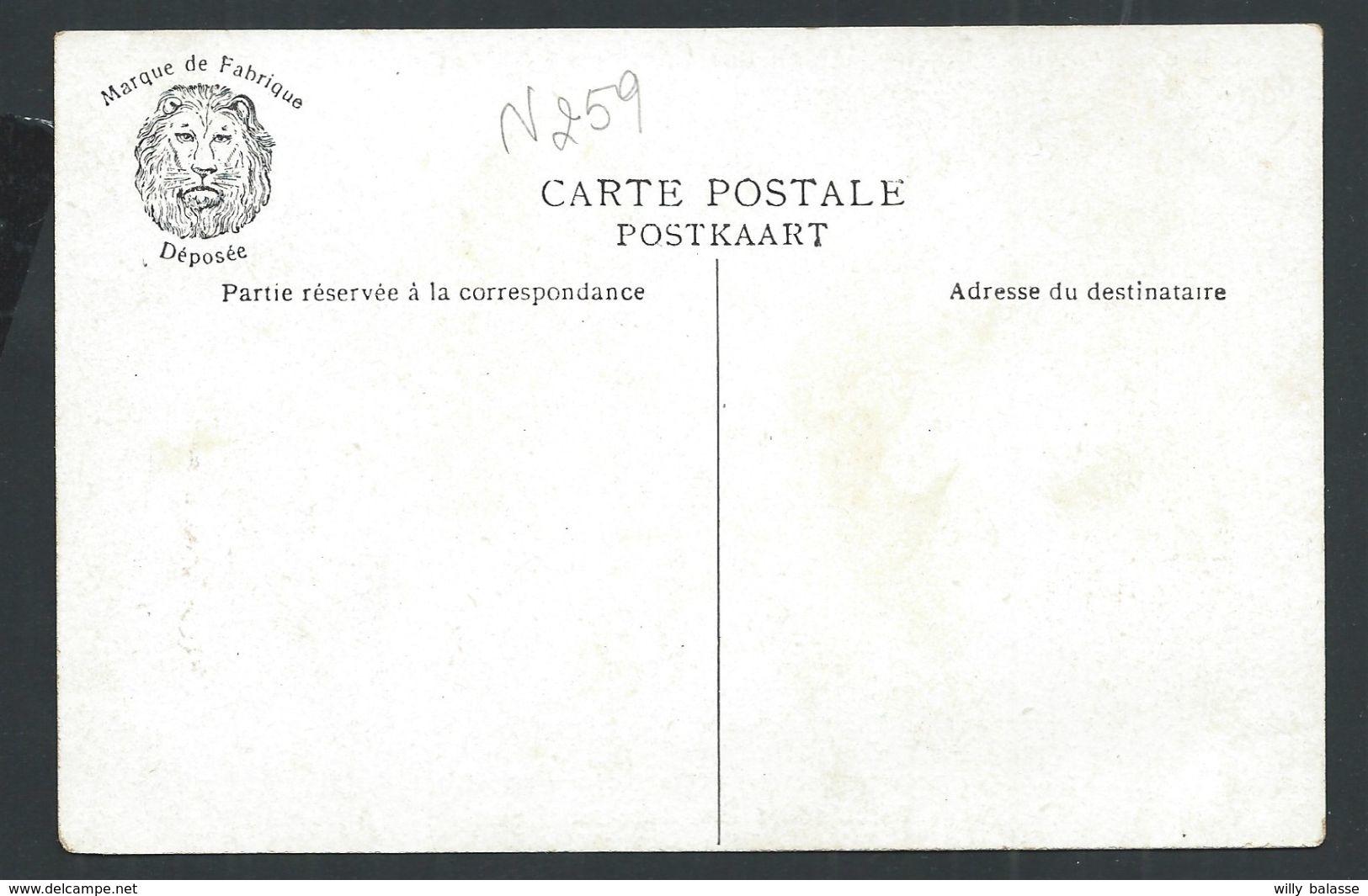 +++ CPA - Carte Fantaisie Géographique - BRABANT FLAMAND - Pub Publicité Amidon REMY     // - Belgique