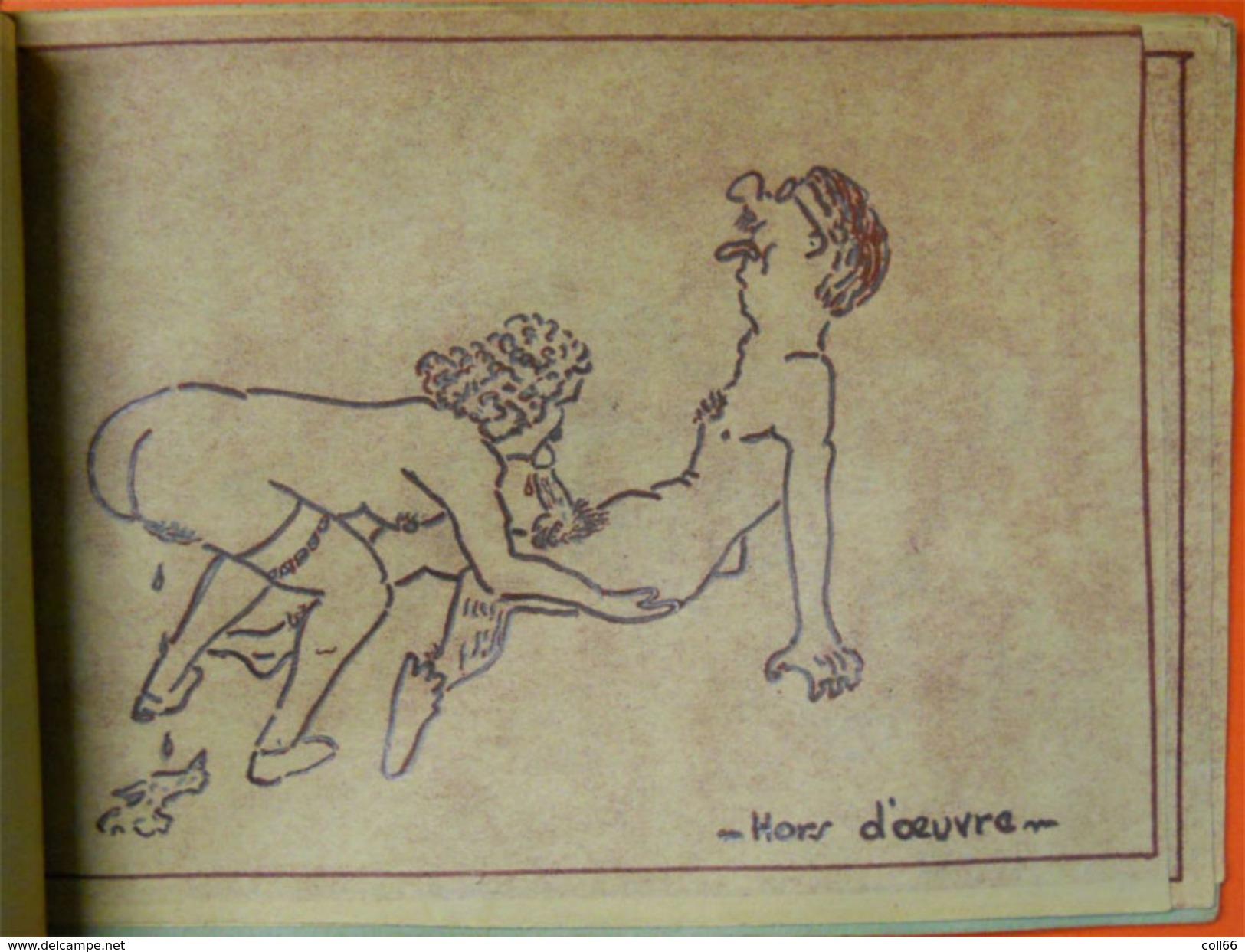 Menu Très Spécial Osé Interdit Aux Enfant Et Personnes Pieuses Curiosa French Kamasutra 18x13 Cms - Menus