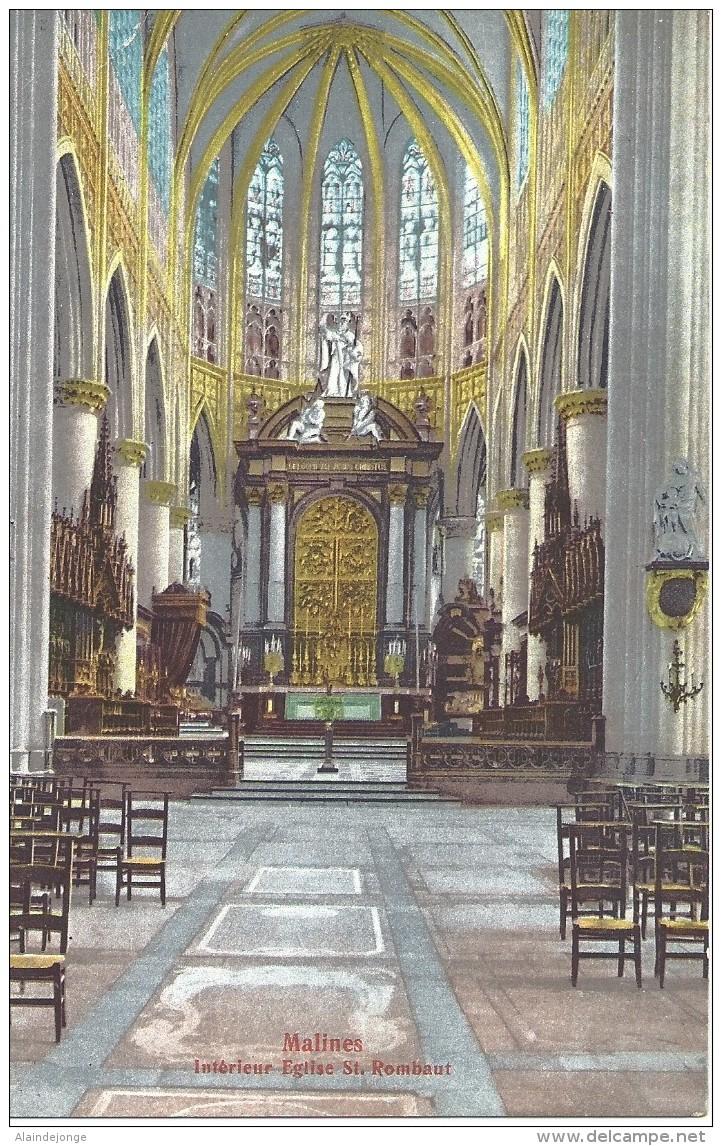 Mechelen Malines - Intérieur Eglise St-Rombaut - Edition Prismos 4583 - Malines