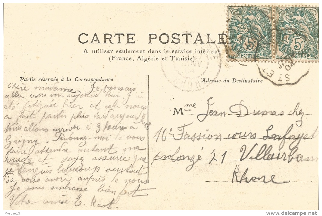 07  SAINT LAURENT Du PAPE  Le Pont Emporté  En 1890 - Autres Communes