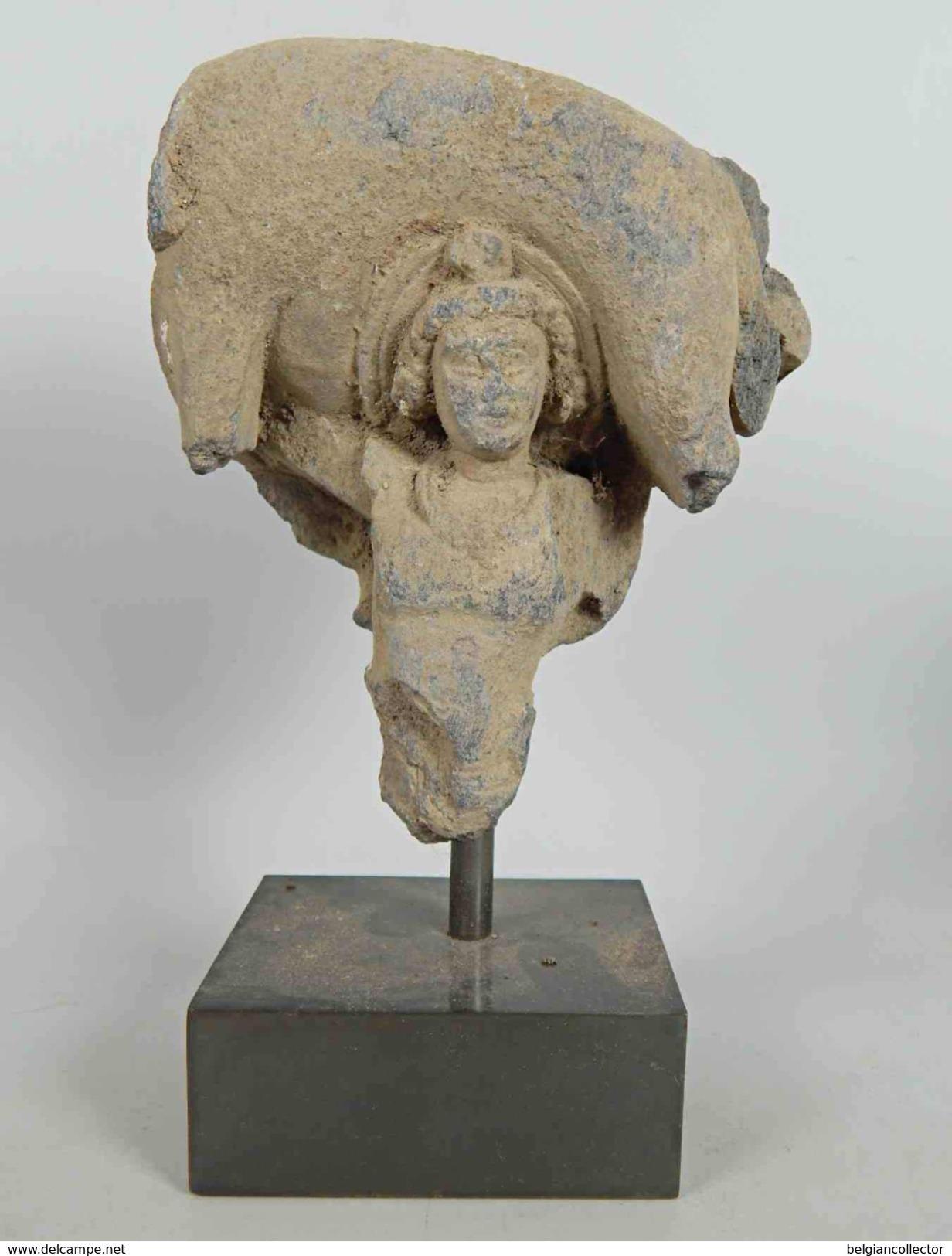 [Départ: 1.00 EUR] «Le Lancer De L'éléphant Mort» / Art Gréco-bouddhique Du Gandhara (1er-Ve Siècle) / Bouddhisme - Oriental Art