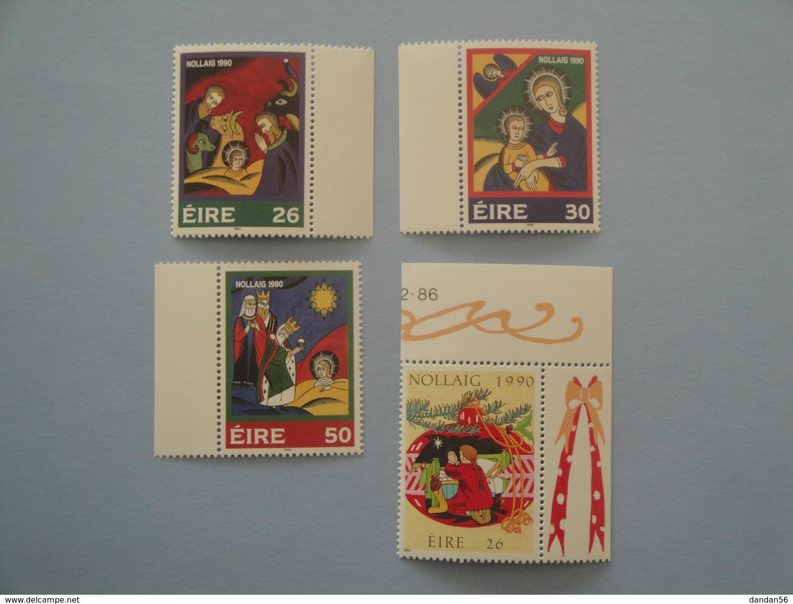 1989 Irlande Yv 740/3  ** Noël Christmas  Scott 818/21 Michel 737/40   SG 789/92 - Neufs
