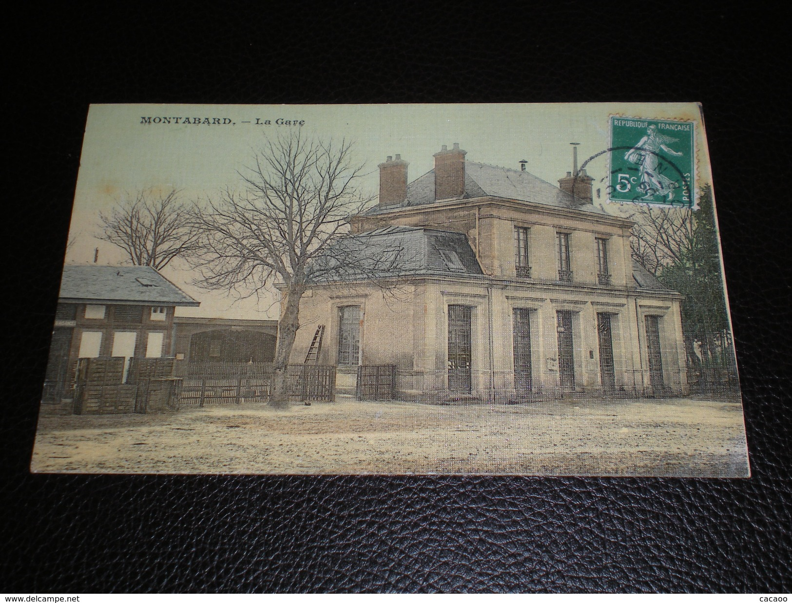 MONTABARD . La Gare. Année 1909 - France