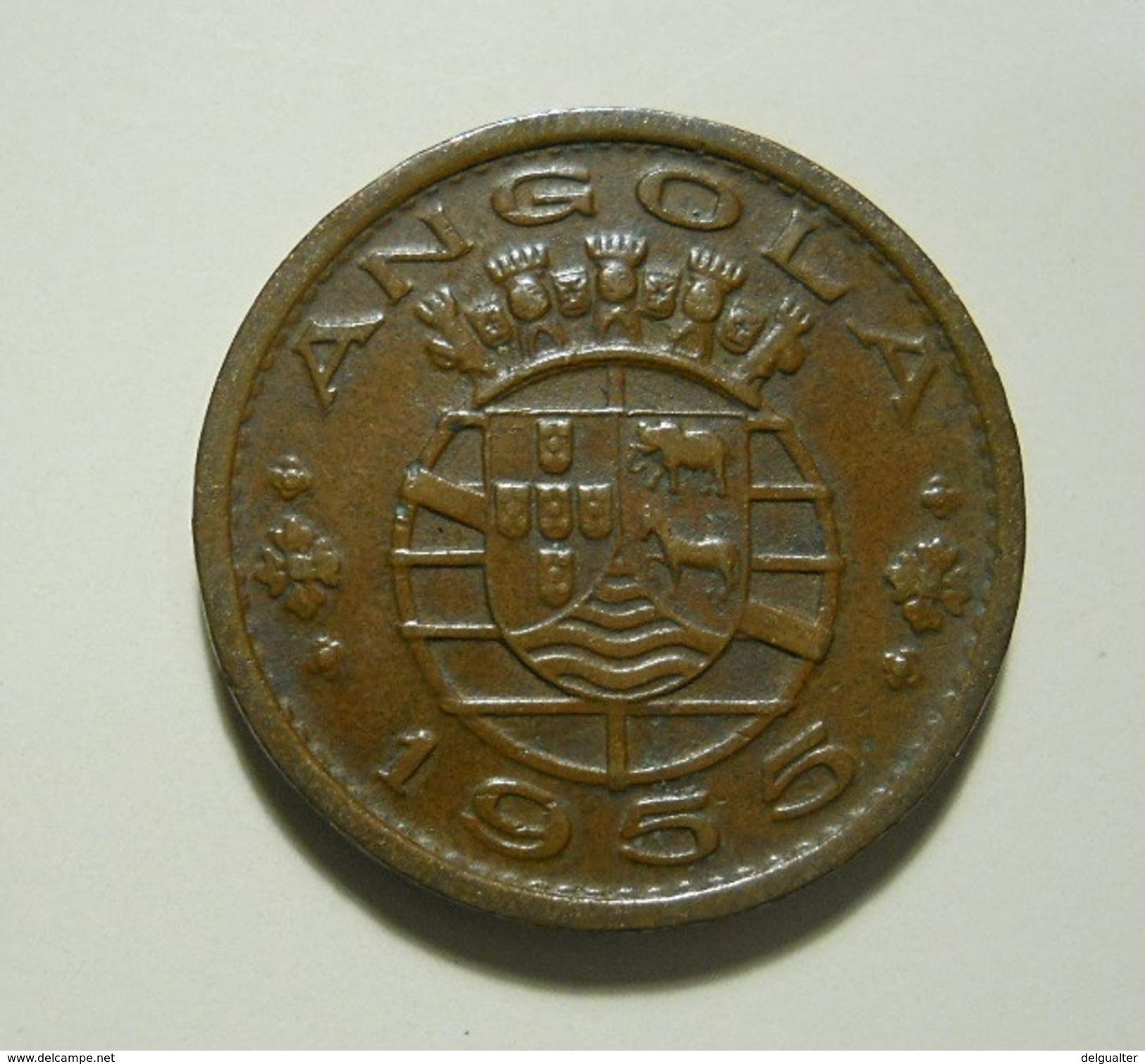Portugal Angola 50 Centavos 1955 - Portugal