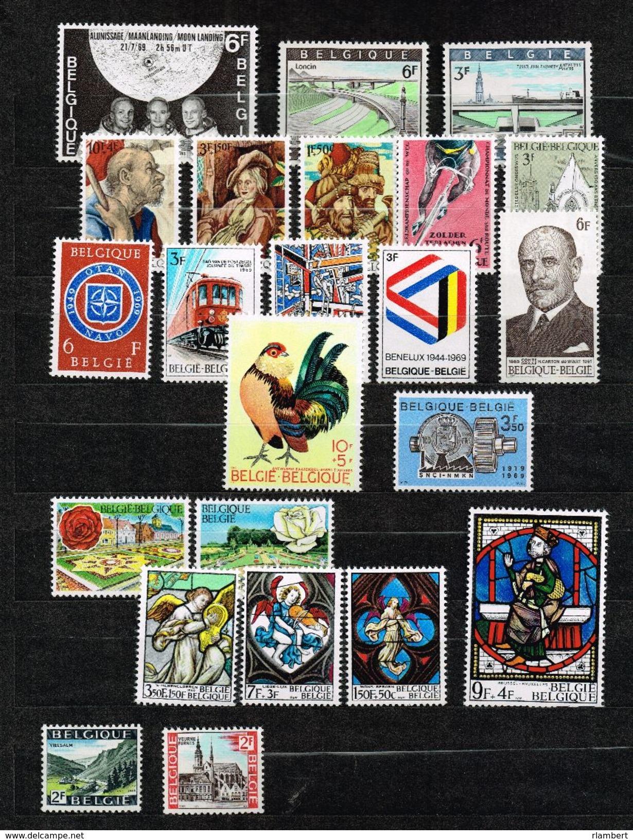 Lot Belg 1969 Postfris - België
