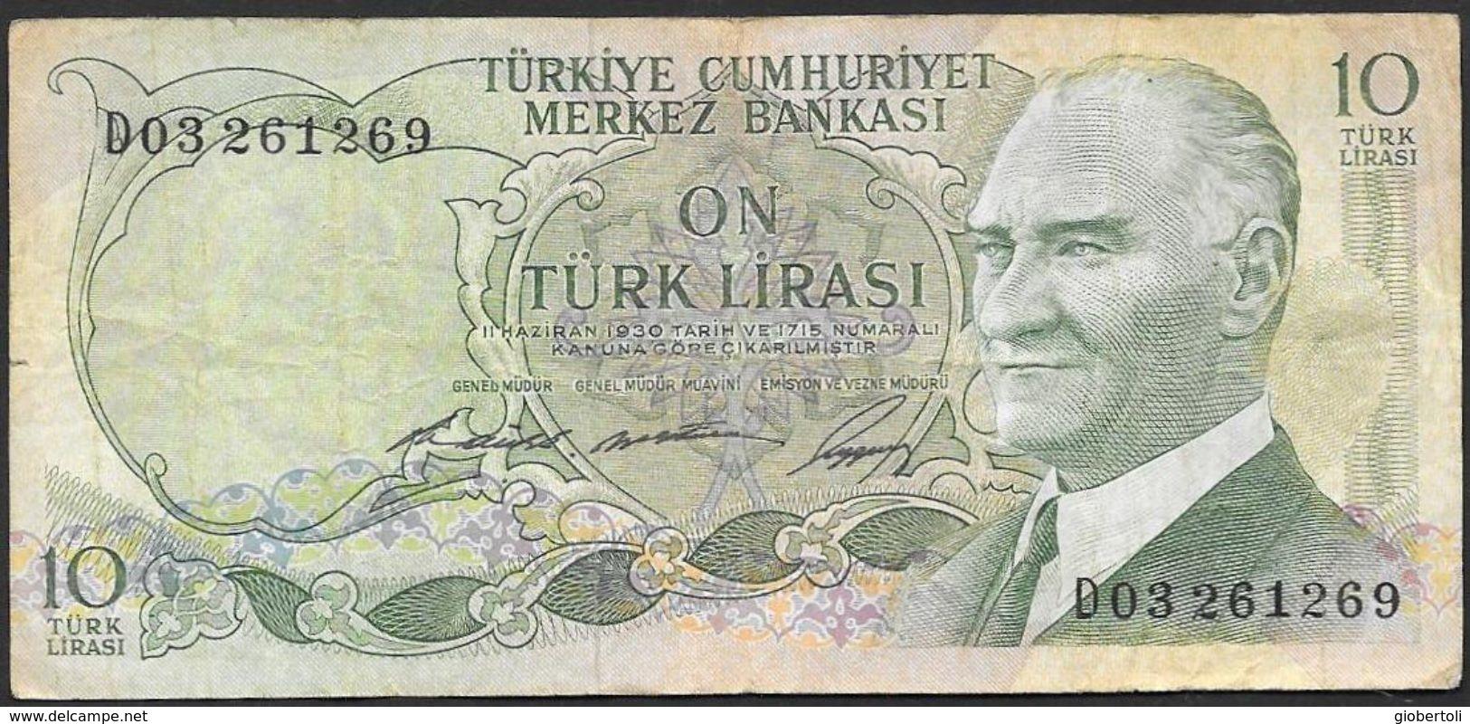 Turchia/Turkey/Turquie: On Turk Lirasi - Turchia