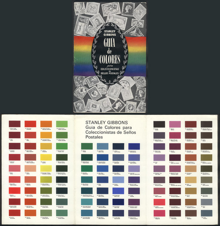 ACCESSORIES: Stanley Gibbons Colour Guide, Used But In Excellent Condition! - Other Supplies And Equipment